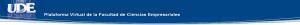 UDE - Facultad de Ciencias Empresariales